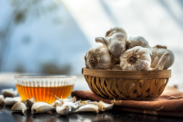 fight colds and flu with garlic